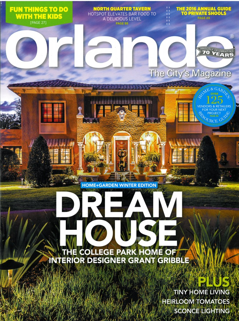 Gribble Interior Group Featured in Orlando Magazine
