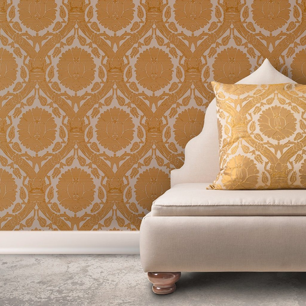 Wall Coverings Are Back