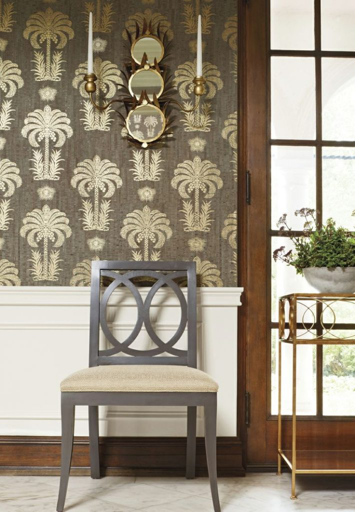 Printed Cork Wall Covering from Thibaut