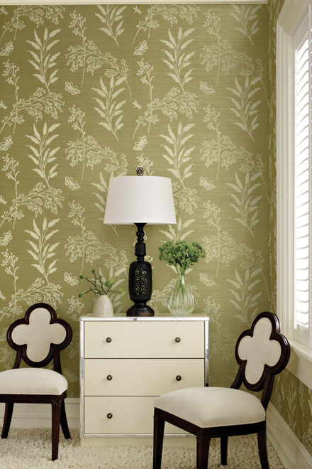 Grasscloth Wallpaper from Thibaut
